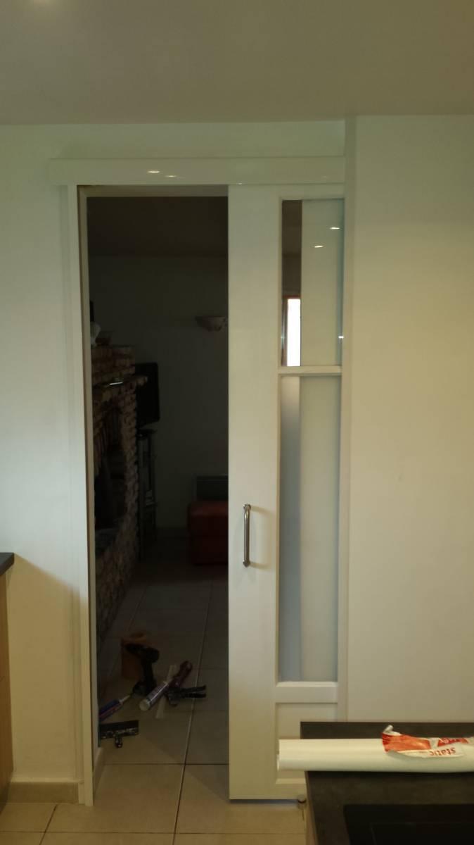 Nation cloison peut poser diff rents types de portes en for Type de porte